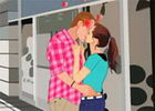 Public Mall Kissing